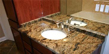 bathroom countertops quartz